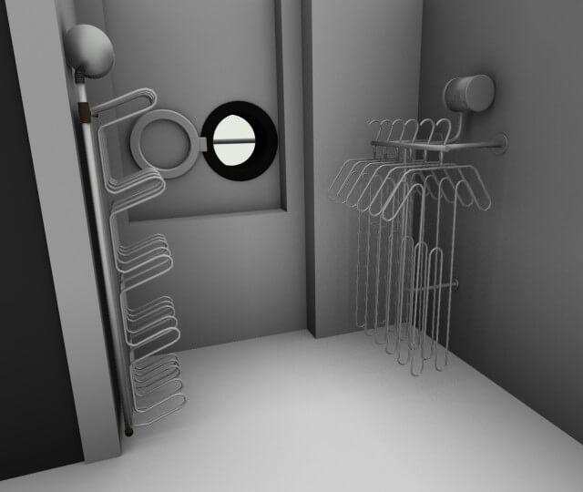 AUTOcad service for drying rooms