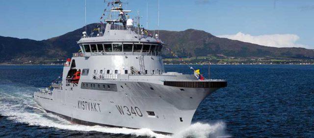 Barentshav Norwegian Coast Guard drying systems