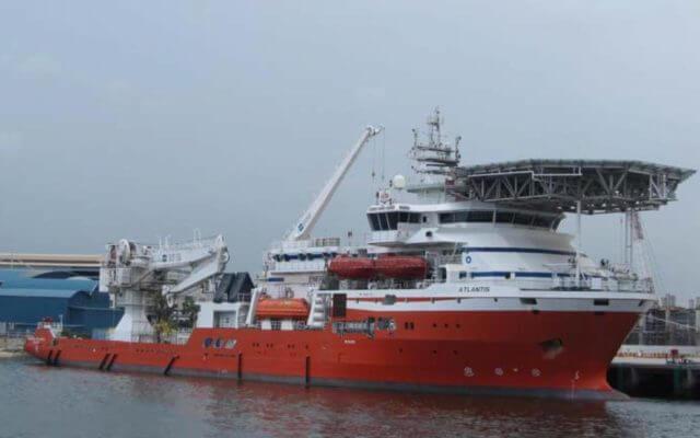 Hanjin Shipyard Gulmar Offshore drying system