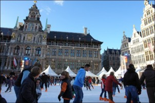 Ice Rink Place Antwerp drying solution