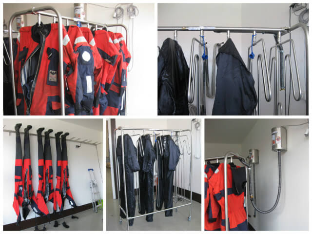 Viking Life Saving Equipment drying solution