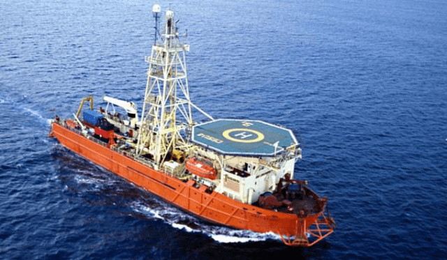 Fugro Drilling Vessel MV Bucentaur Merus technology