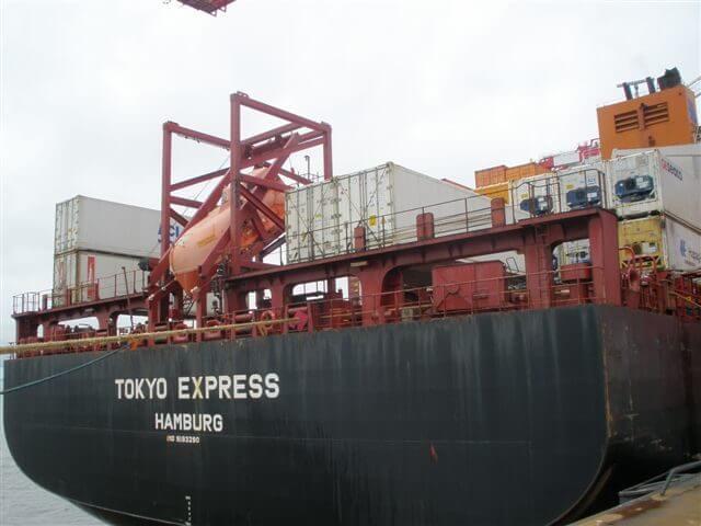 Hapag Lloyd Tokyo Express Merus ring