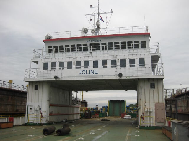 MV Joline RoRo Ferry Merus ring