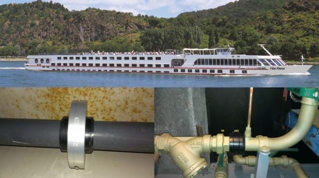 Rijfers River Cruises Filia Rheni Merus rings