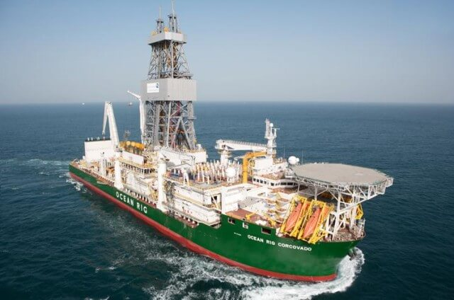 Ocean Rig Corcovado drying systems