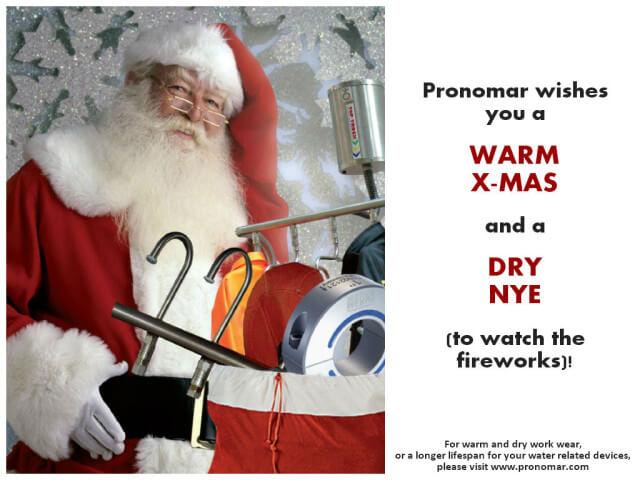 Pronomar Season's Greetings
