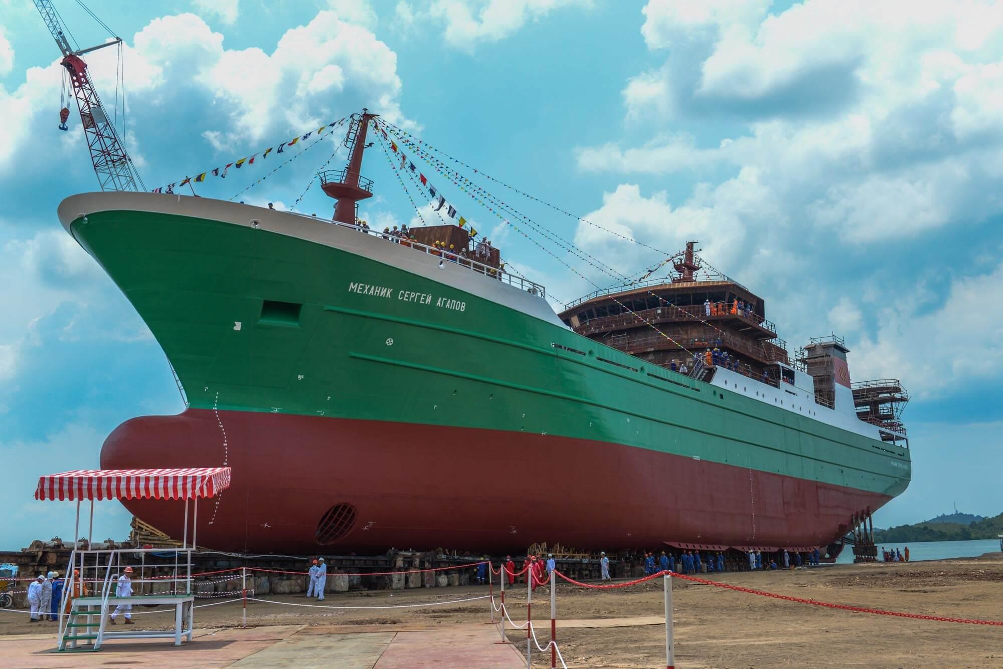 DDW Paxocean freezer trawler T214 drying systems