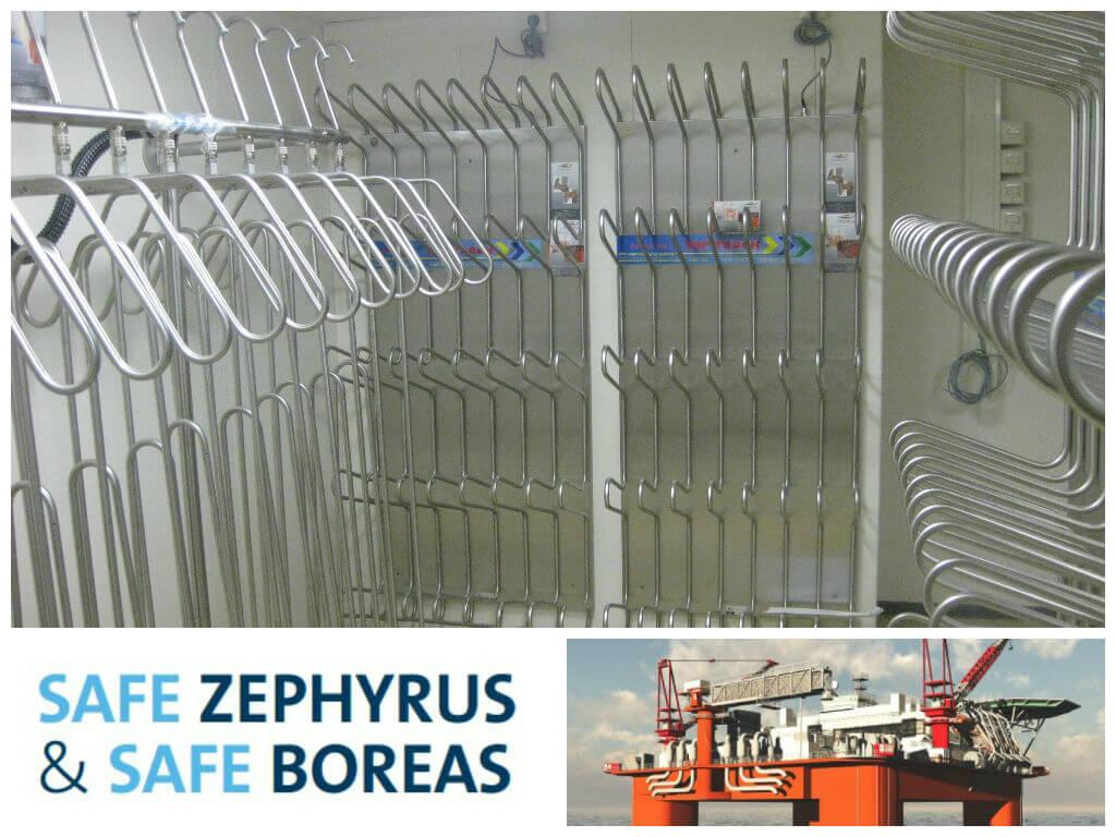 Jurong Shipyard Safe Boreas Zephyrus drying systems