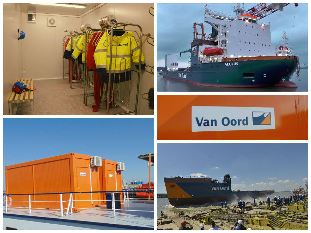 Van Oord Nexus, Aeolus, MPS Brillant drying solution
