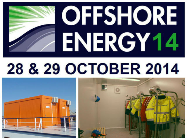 ELA Offshore Energy drying container