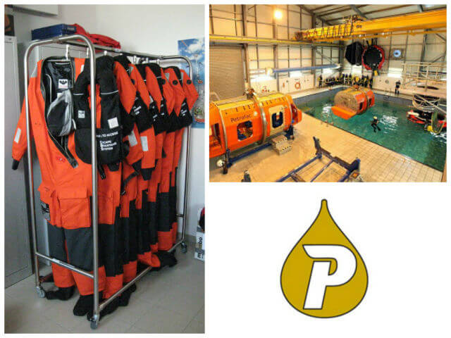 Petrofac Training Centre mobile drying system