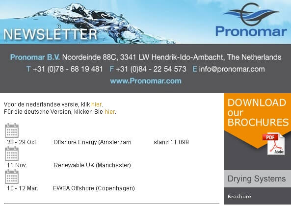 Pronomar Newsletter 10.2014