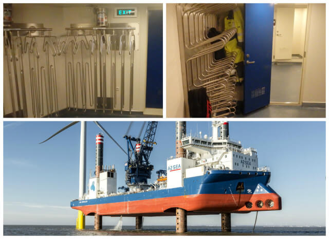 A2SEA Sea Challenger drying systems