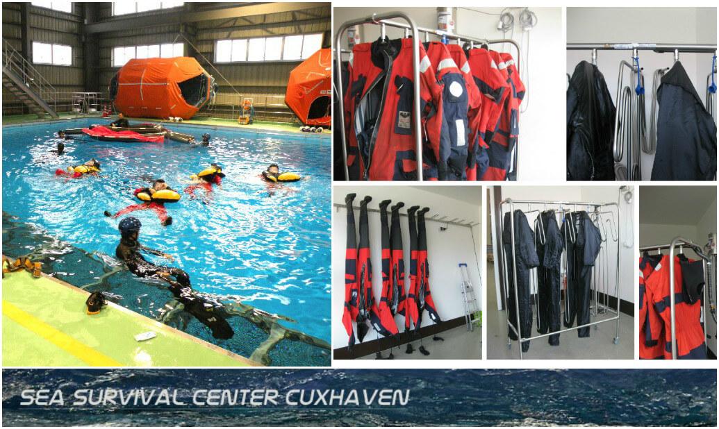 Offshore Safety Training center Sea Survival Center Cuxhaven