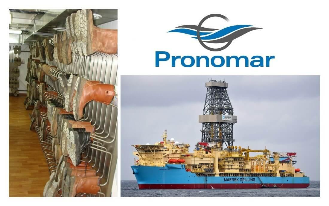 Marine Technic Maersk Viking drying systems