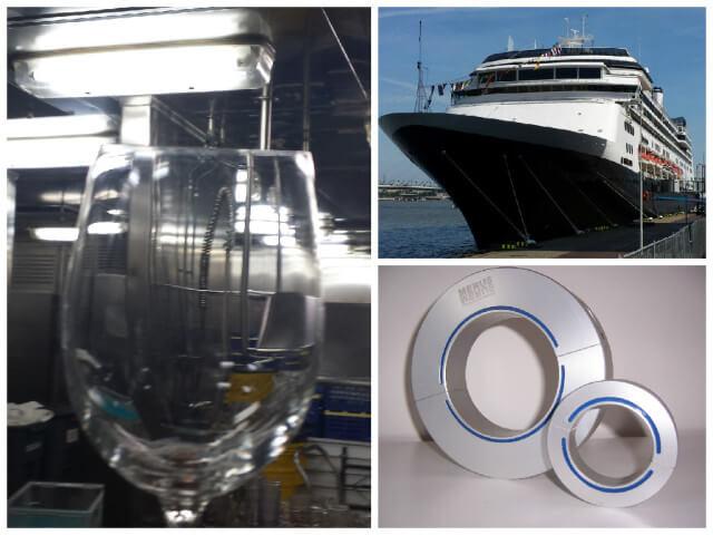 HAL MS Rotterdam Merus rings