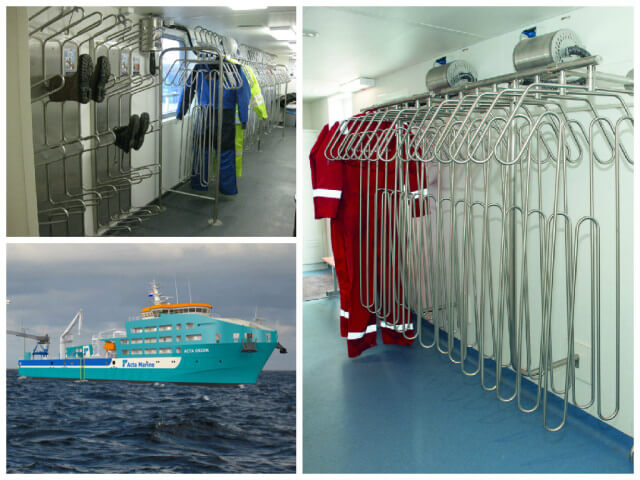 CIG Shipbuilding Acta Marine drying systems