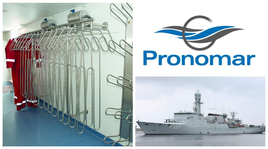 LF Ventilation Danish Navy drying systems