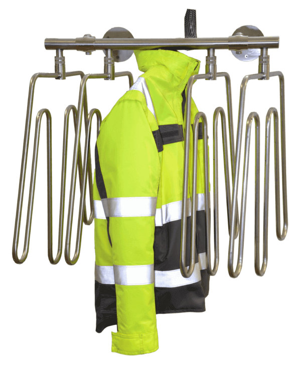 work wear dryer for heavy and light jackets