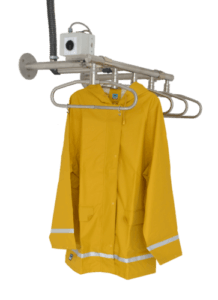 drying solution for fishing jackets