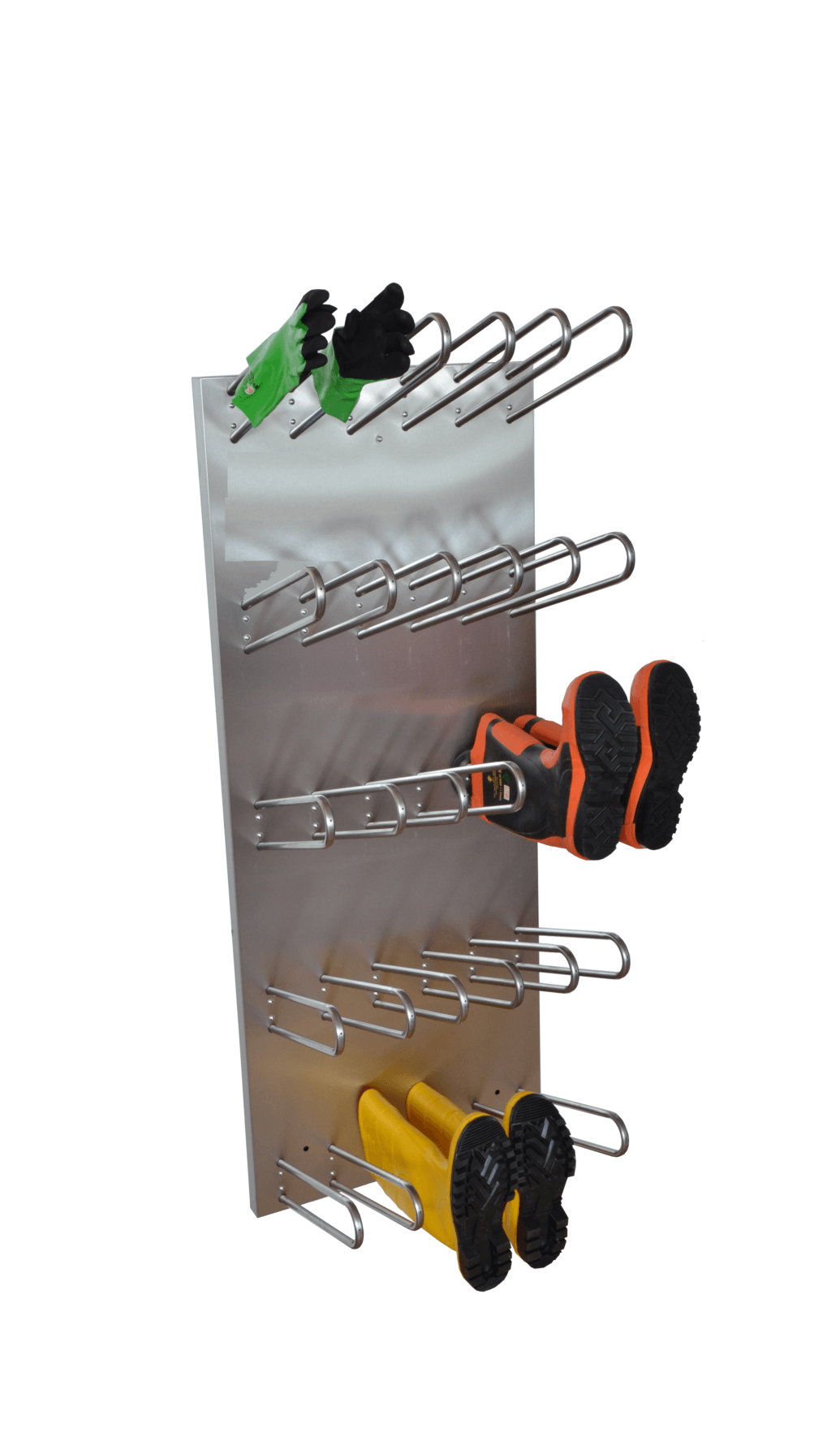 Electrical professional drying system for boots, shoes and gloves
