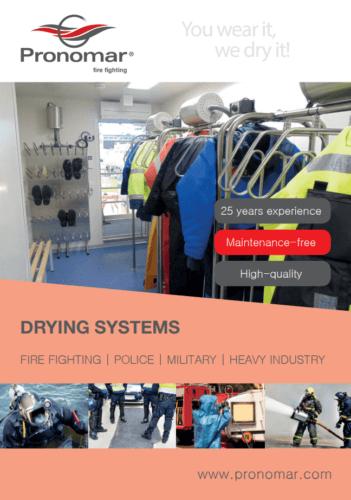 Pronomar brochure fire fighting industry