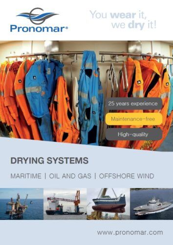 Pronomar Brochure Maritime Offshore industry