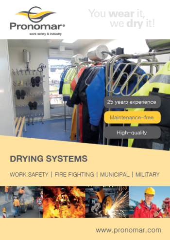 Pronomar brochure work safety and industry