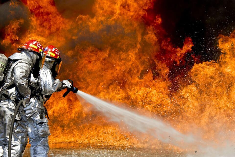 droogpanelen voor brandweerpakken
