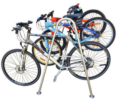 professional rack for bicycles