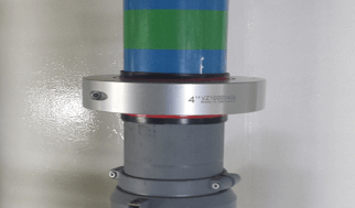 Merus ring for vacuum sanitary system