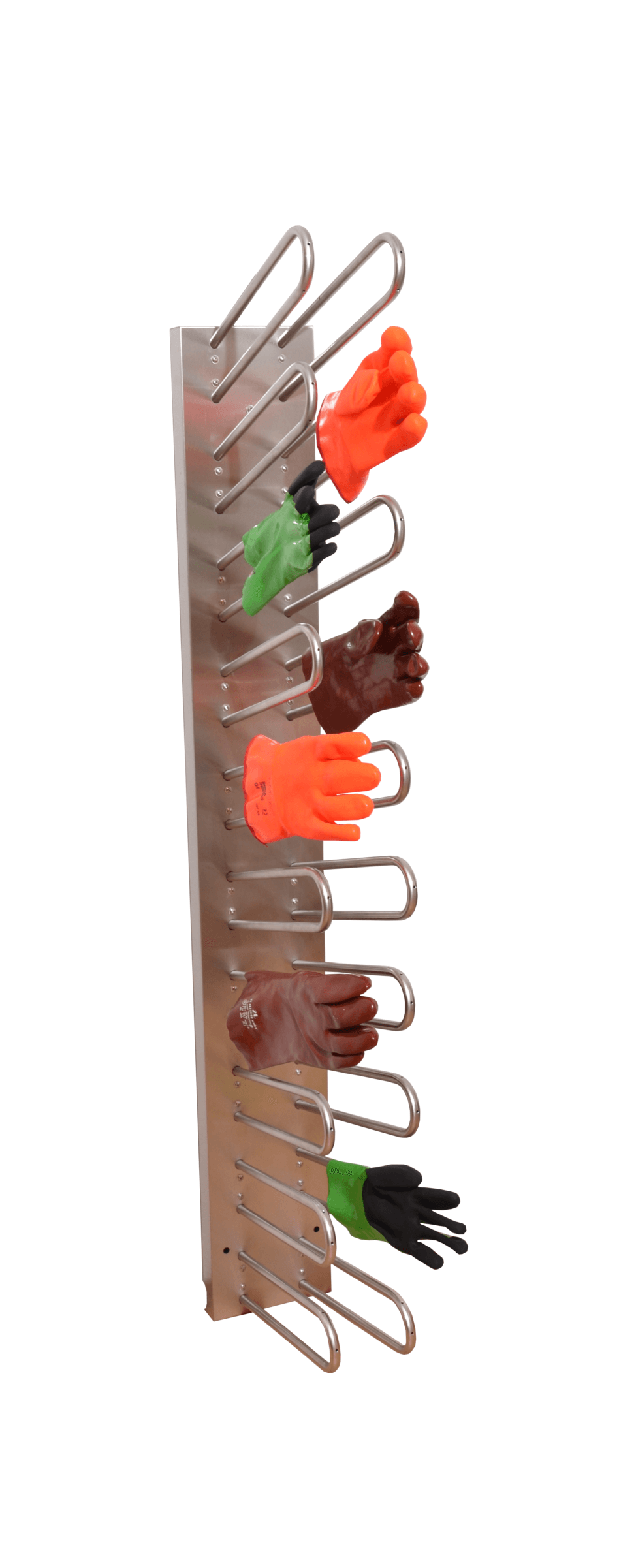 Electrical drying rack for quick drying of gloves