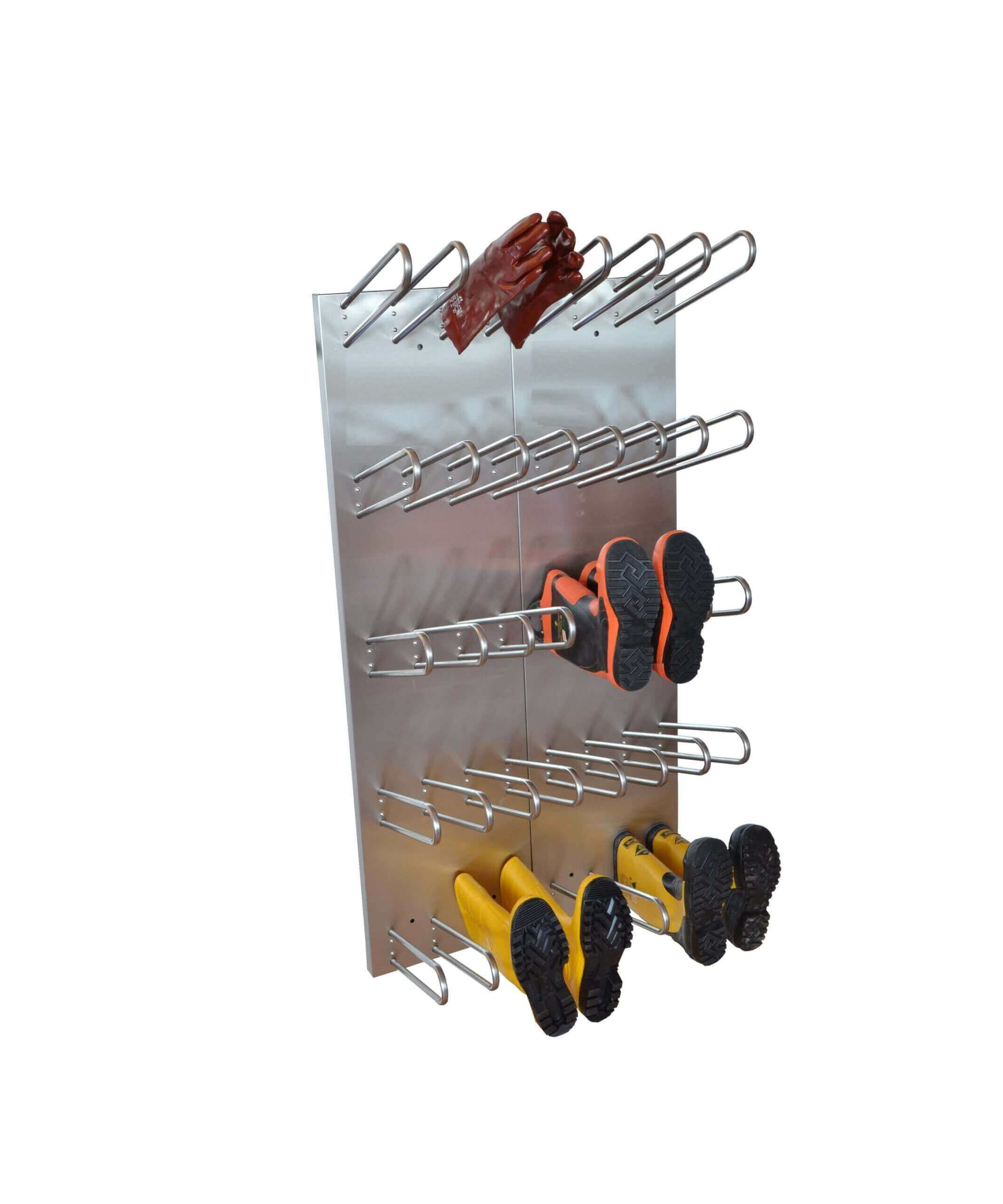 electrically heated boot and glove dryer