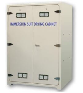 Pronomar GRP drying cabinet for immersion suits