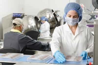 sistema de secado para guantes industria alimentaria