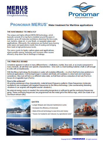 Merus Leaflet Maritime Applications