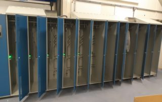 drying lockers online food industry