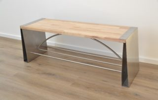 professional design stainless steel bench