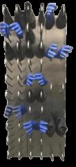secador de botas y guantes de pared
