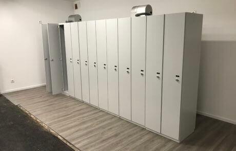 drying room locker solution
