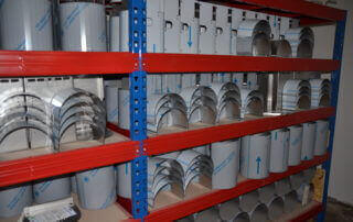 production warm-air blowers drying systems