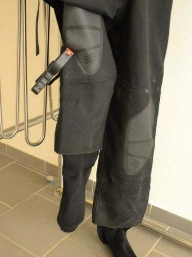 dryer for training stations for wet suits and drysuits