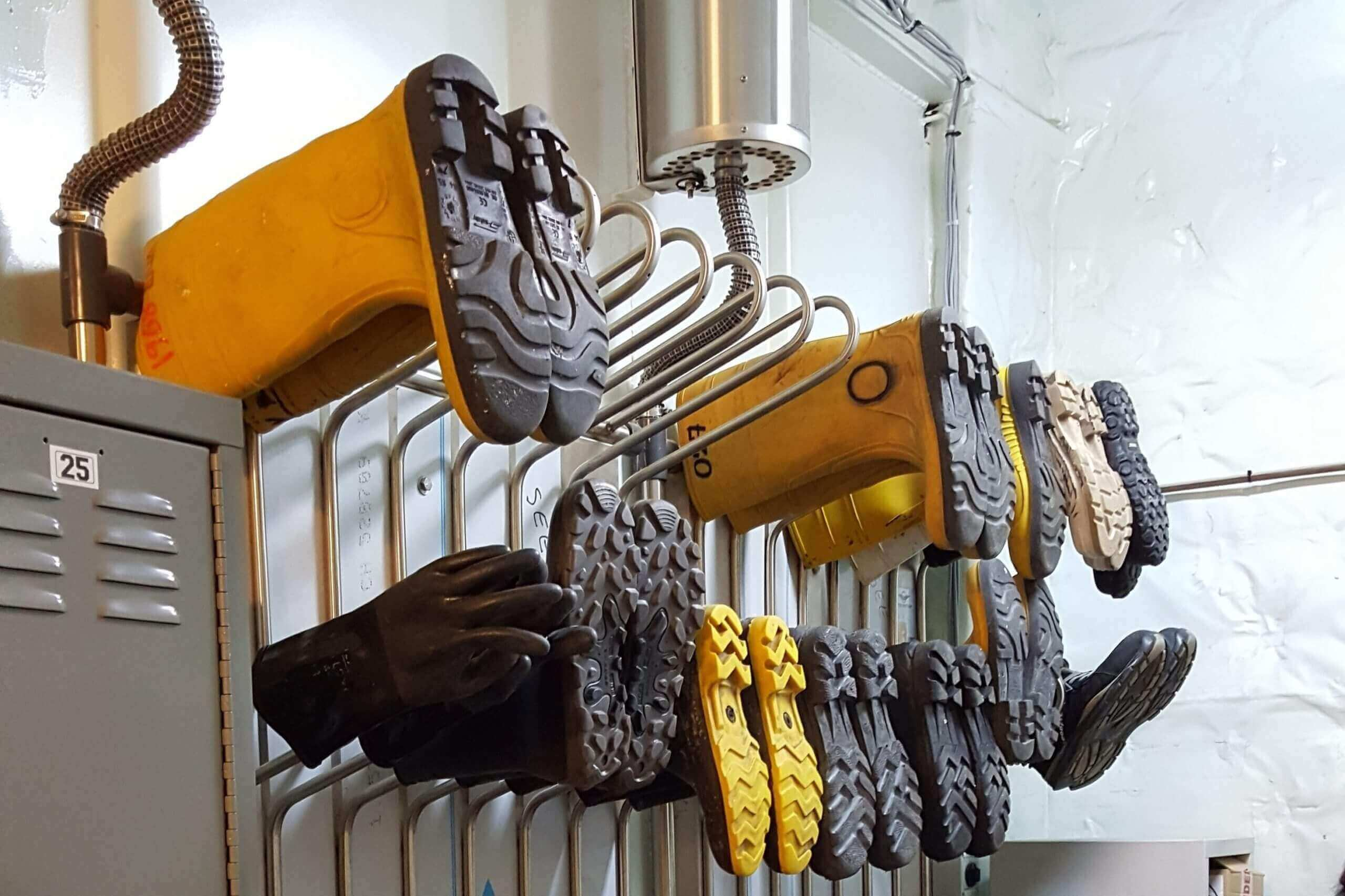 boot dryer for expedition cruise ship
